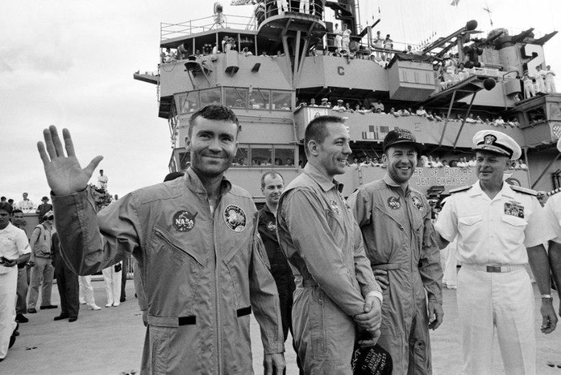 MINEVIKUHETK | 17. aprill: Apollo 13 jõudis raskuste kiuste tagasi Maale