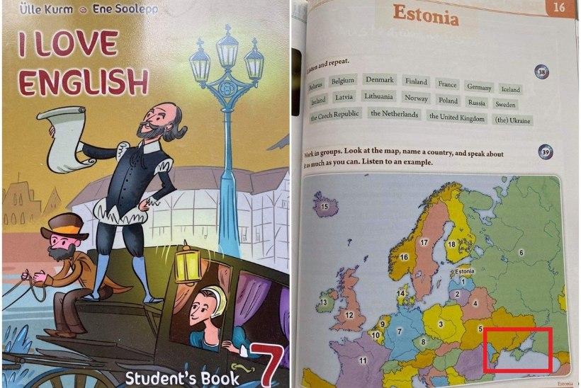 Ukrainlased pahandavad: Eesti õpiku järgi kuulub Krimmi poolsaar Venemaale!