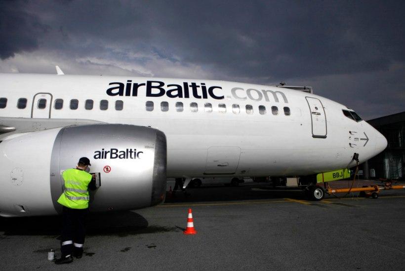 AirBaltic kavatseb lendudega jätkata maikuus