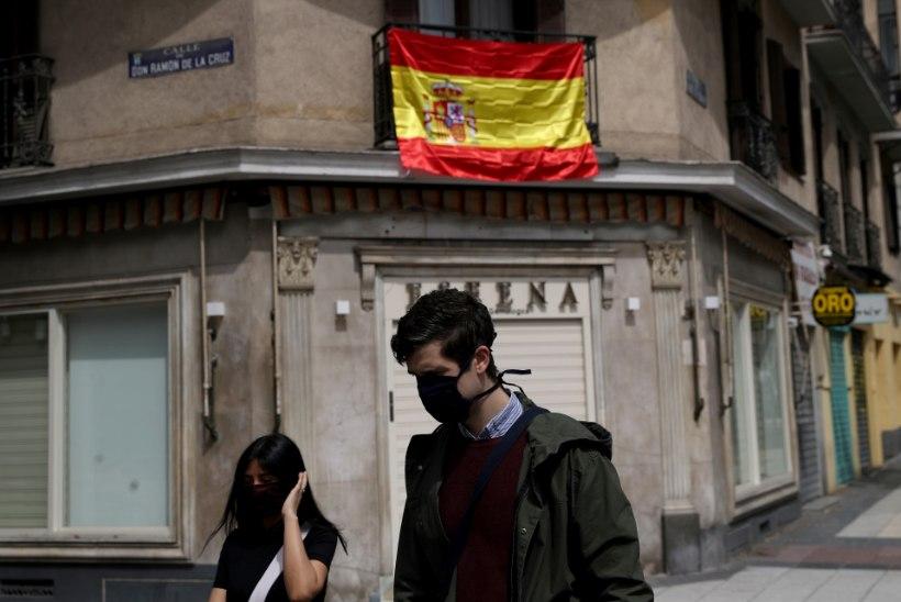 Hispaanias tohivad väikesed lapsed üle pika aja taas välja minna