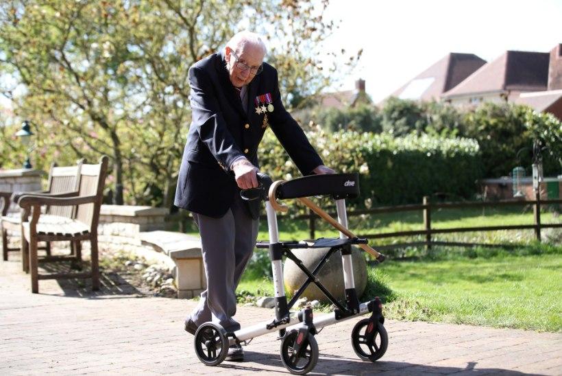 Saja-aastane veteran kogub tervishoiule miljoneid