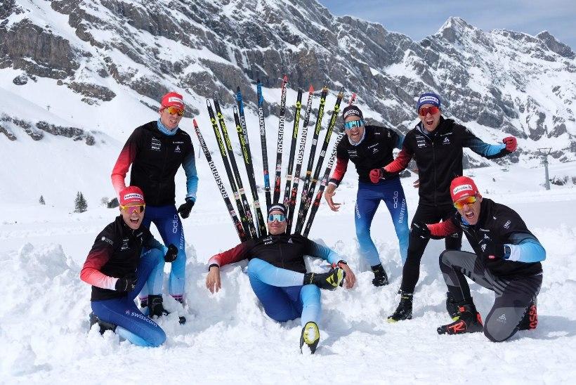 MUINASJUTULINE LUGU: Šveitsi suusatajad soovivad võita olümpiamedalit Kein Einaste abiga