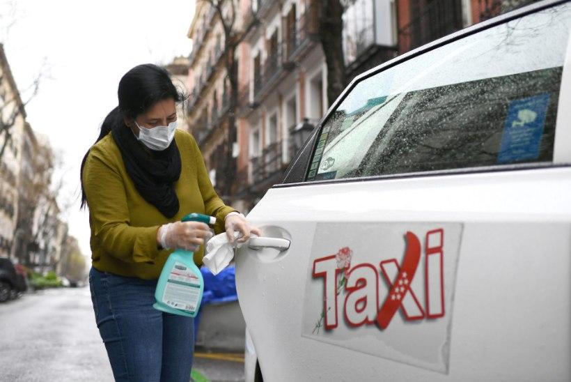 VIDEO   KANGELANE! Hispaanlased aplodeerisid koroonahaigeid tasuta sõidutanud taksojuhile