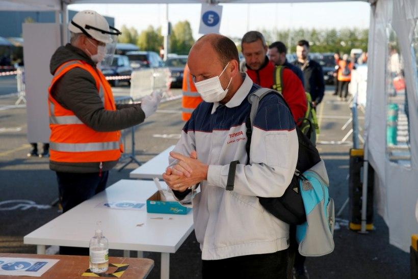 KOROONAVIIRUS MAAILMAS: üle 2,5 miljoni diagnoositud nakatunu, 171 000 surma ja 658 000 tervenenu. Itaalias vähenes aktiivsete juhtumite arv