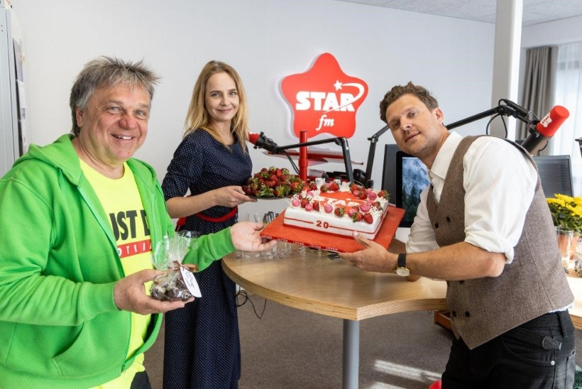 FOTOD | Õnne! Raadio Star FM tähistas juba 20. sünnipäeva