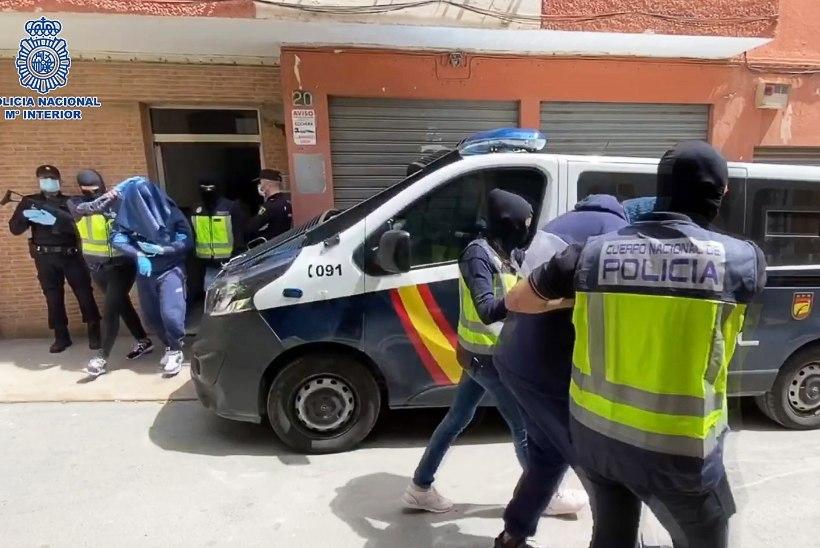 Hispaania politsei tabas Euroopa ühe tagaotsituma ISISe terroristi
