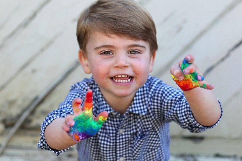 Sünnipäevalaps prints Louis on oma venna ja õe täiuslik kombinatsioon!