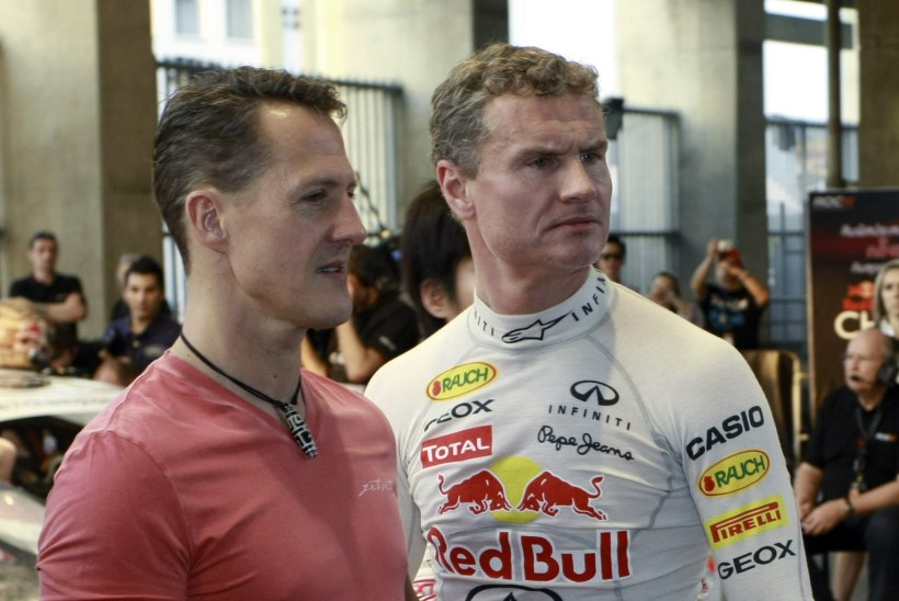 David Coulthard avaldas, et ei liitunud Ferrariga Schumacheri pärast