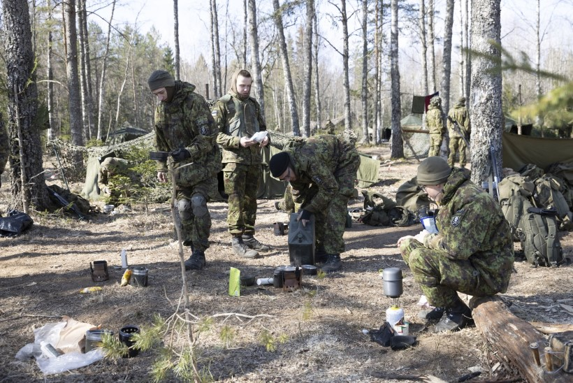 GALERII | Kaitseväe üksused valmistuvad Kevadtormi lahinguteks