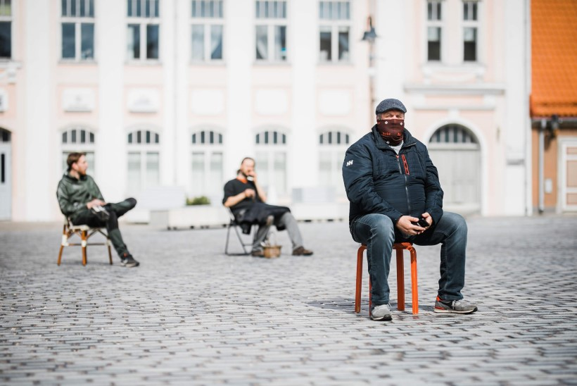 GALERII   Streik saarlaste moodi: vaata, kuidas protestiks korraldatud istumine õnnestus!
