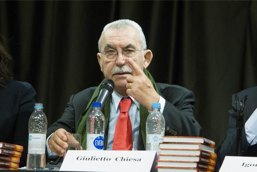 Suri skandaalne itaalia ajakirjanik Giulietto Chiesa