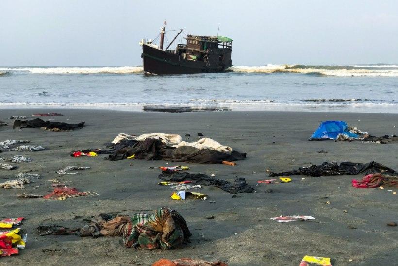 VIDEO | KOROONA JA MIGRANDID: paadi peal lõksus põgenikud peavad jooma merevett