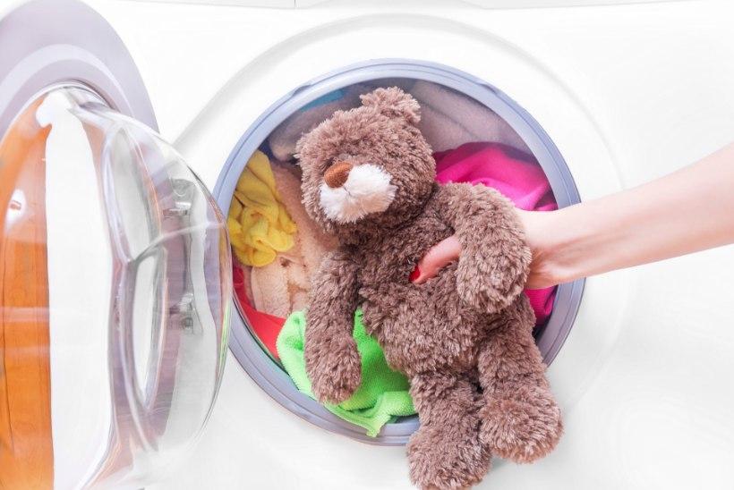 Kas pehmeid mänguasju võib pesumasinas pesta?