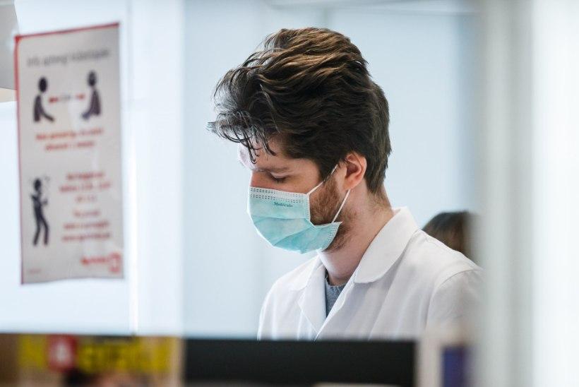 ÕNNETU ABIKÄSI! Nördinud apteegijuht: terviseamet saatis meile tööl kandmiseks hallitanud maske