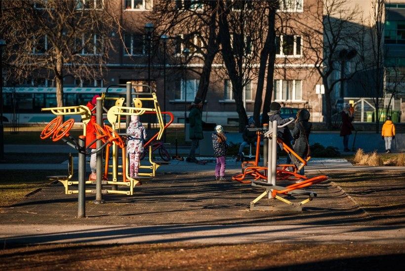Tallinn jätab välijõusaalid ja spordiväljakud suletuks eriolukorra lõpuni