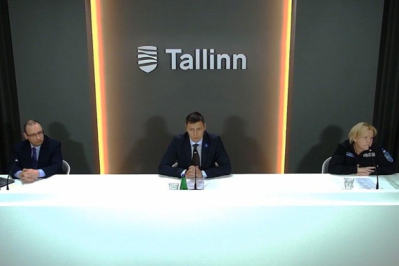 VIDEO | Popov pealinna infotunnis: Tallinnas on viiruse haripunkt seljatatud