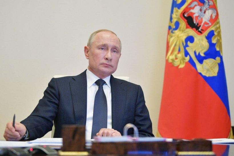 Vladimir Putin kinkis venelastele tavalisest pikemad pühad