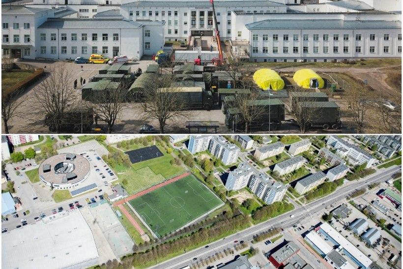 Ettevalmistused epideemiaks: Tallinnas otsitakse kohti välihaiglatele