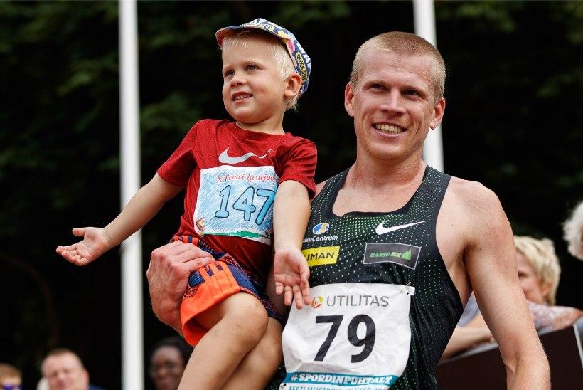 PALJU ÕNNE! Eesti parim takistusjooksja sai teist korda isaks