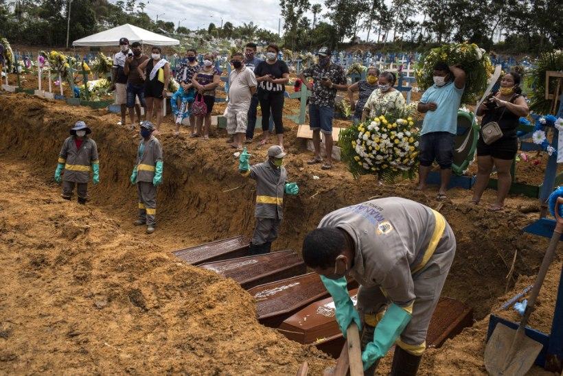 """Brasiilia president surmajuhtumite hüppelise tõusu kohta: """"Mis siis?"""""""