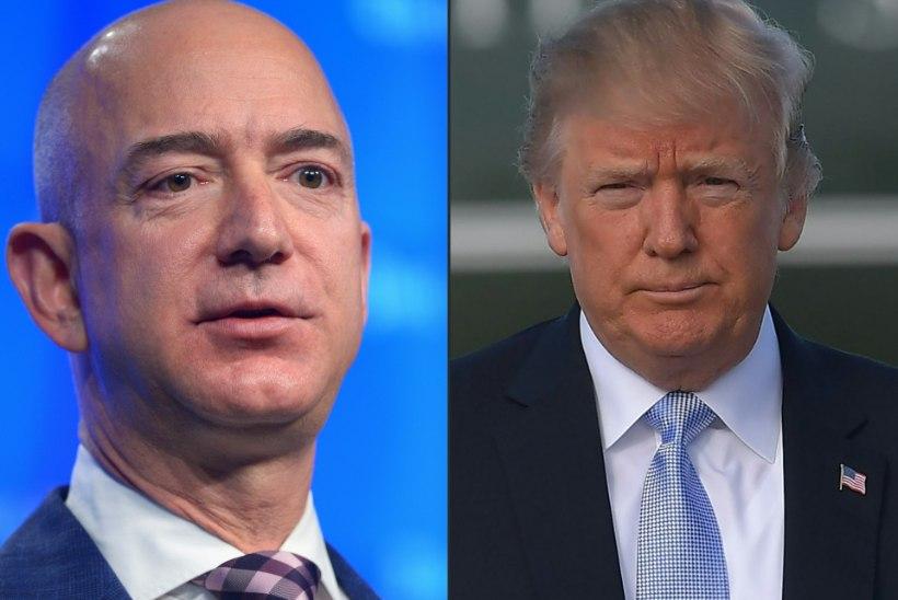 TRUMPI HEITLUSED: konflikt Amazoniga ja Hiina soov presidendikampaania nurjata