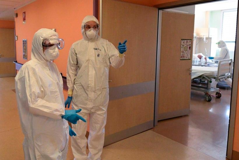 Viirusepaanikas mees tappis arstist kallima