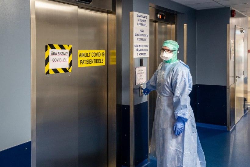 BLOGI | Haiglaravil on 125 inimest, 10 vajavad juhitavat hingamist, surnuid 40