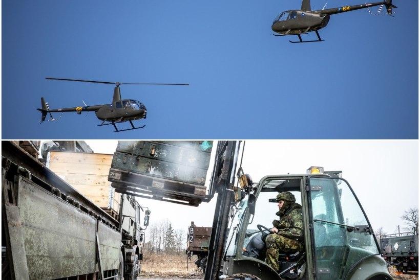 Abipalved kaitsejõududele: kopterid politseile, 700 000 näomaski terviseametile
