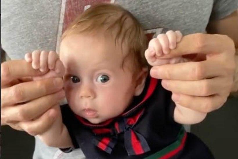 NUNNU VIDEO | Vaata, kuidas Enrique Iglesias oma pisitütart tantsitab