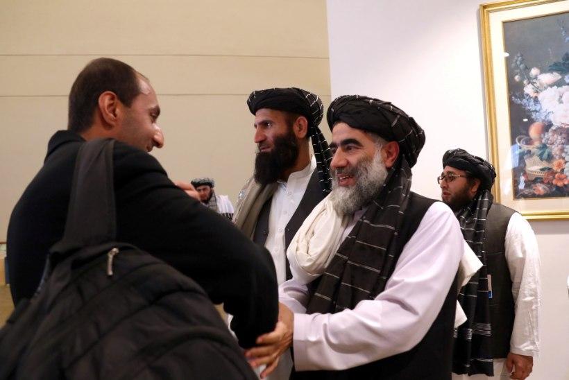 TALIBAN HOIATAB: rahuleping Afganistanis võib iga kell puruneda