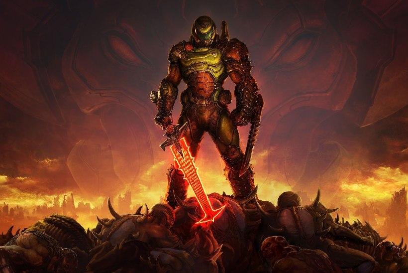 """VIDEO   """"Doom Eternal"""" üritab üle oma varju hüpata, ent kas see ka õnnestub?"""