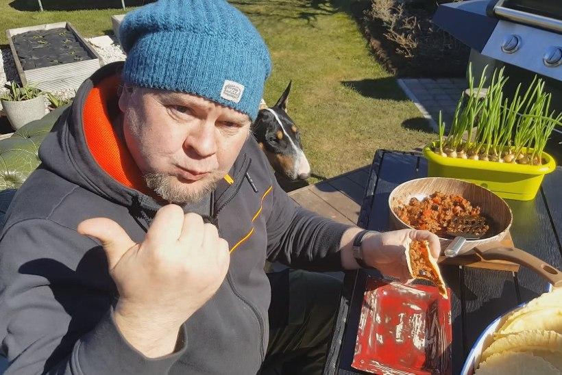 VIDEO | Ago Andersoni tacod hakklihaga: kui juba loom sööb, on tegu kvaliteetse toiduga