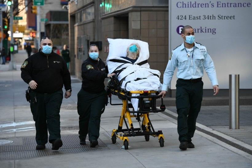 KOROONAVIIRUS MAAILMAS: 1,36 miljonit juhtumit, üle 76 000 surma ja ligi 294 000 tervenenut. Hiinas möödus ööpäev ohvriteta