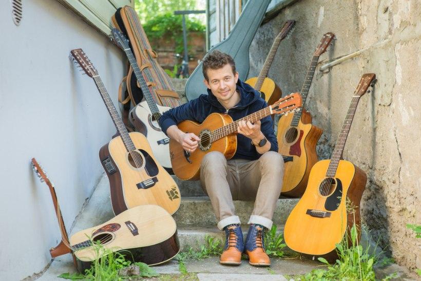 Jalmar Vabarna annab Instagramis kitarritunde: olen juba ammu mõelnud veebikooli tegemisele
