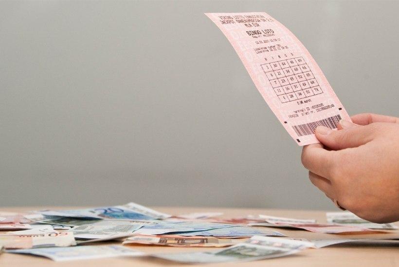 Õnnelik lotomängija võitis üle 900 000 euro