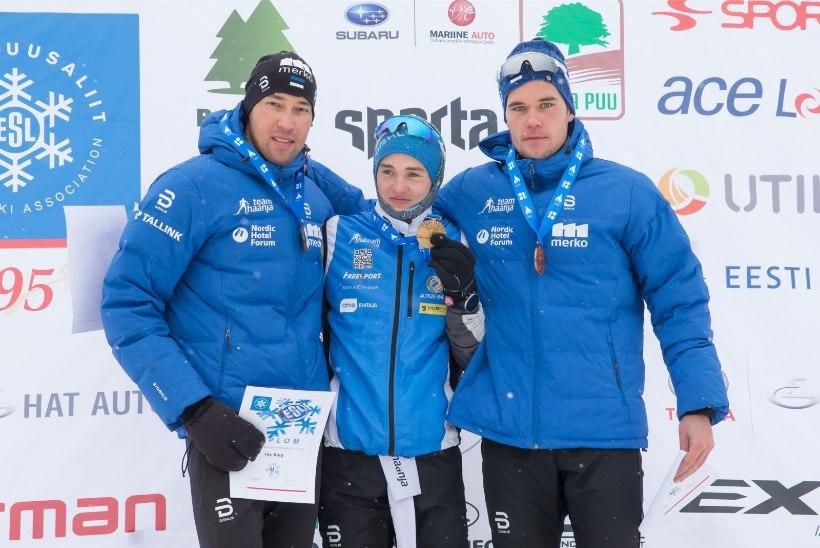 Veerpalu kaotab dopingu tõttu kolm Eesti meistritiitlit, Tammjärv ühe. Tagantjärele võitjad ei oska uudisest rõõmu tunda