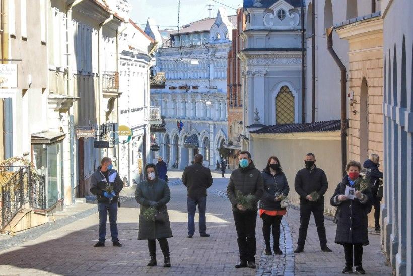 Leedu valitsus muutis kaitsemaskide kandmise kohustuslikuks