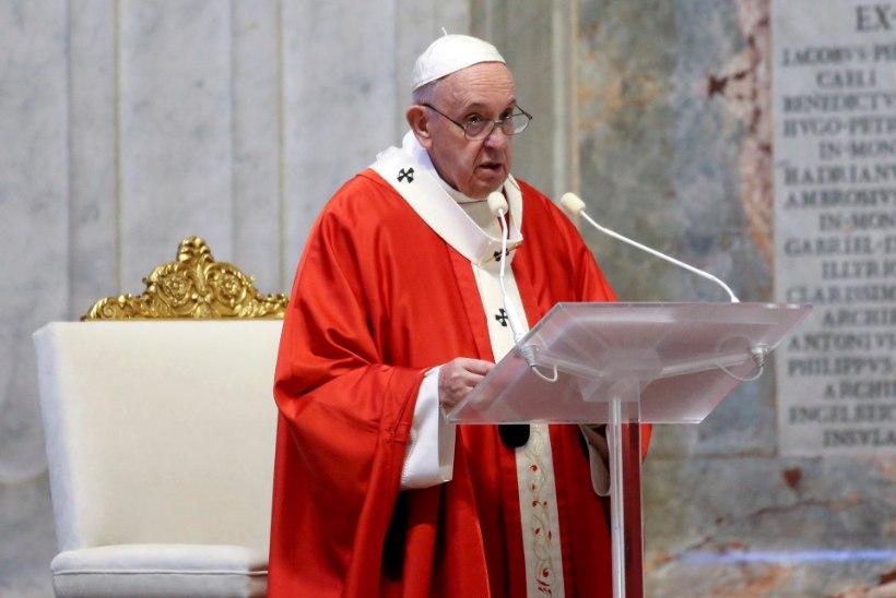 Paavst Franciscus: pandeemia võib olla looduse vastukäik kliimakriisile