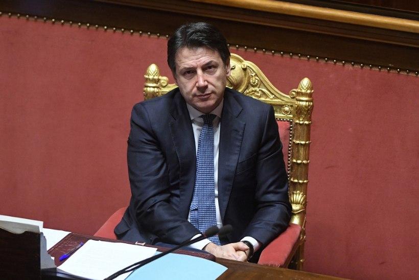 Itaalia peaminister: Euroopa Liit võib koroonakriisi taustal läbi kukkuda