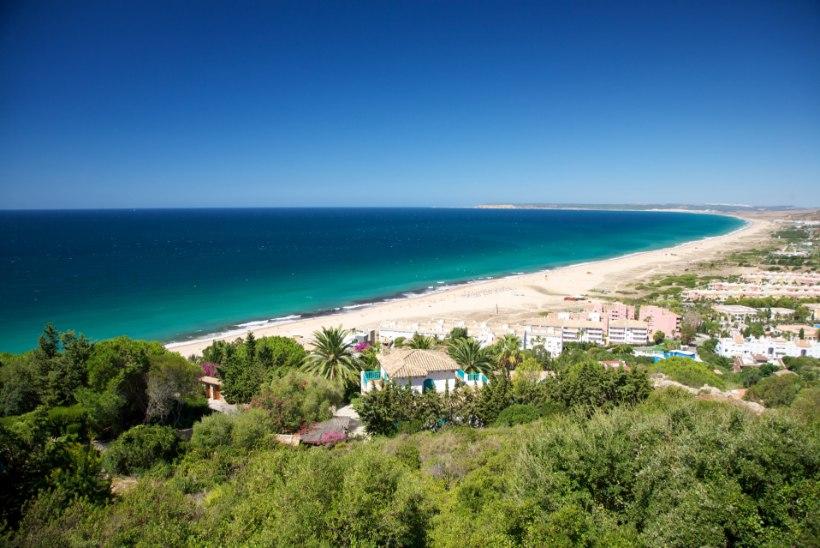Koroonaviiruse klooritamine hävitas Hispaanias ranna
