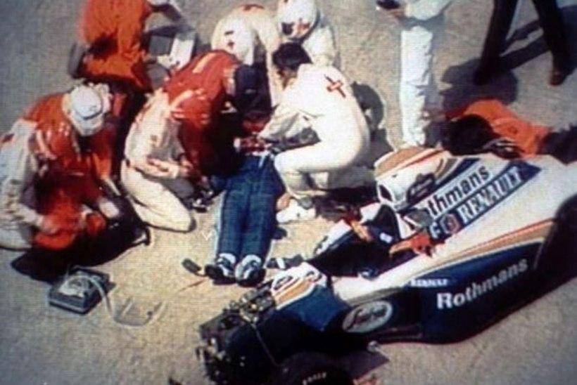 """Are Elleri meenutus traagilisest päevast: """"Senna oli õnnetuse hetkel autos vaid reisija."""""""