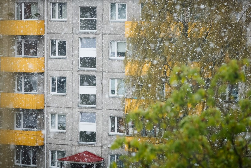 PILDID | Mis kevad?! Tallinnas sajab lörtsi!