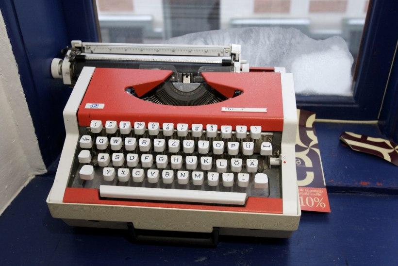 Raha pööningul: vana kirjutusmasin võib maksta mitusada eurot