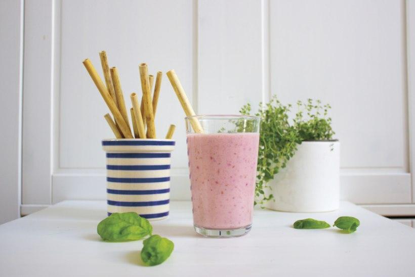 Plastiku asemel: valmista ise pilliroost joogikõrred!