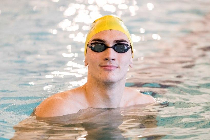 Üle pika aja basseini pääsenud Eesti ujumiskoondislane: veetunnetust, jõudu ega vastupidavust pole