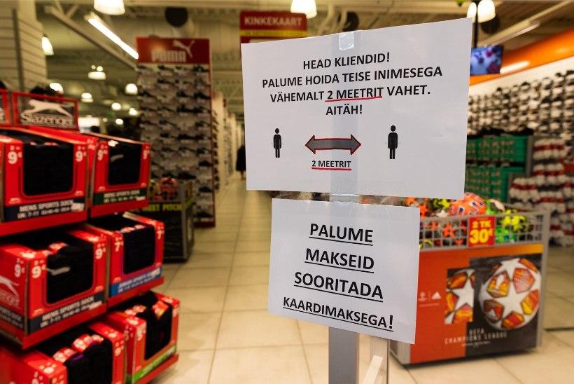 Lugejakiri | Riideost taasavatud kaubanduskeskuses: prooviruumid on kinni ja desovahendist saab üledoosi!