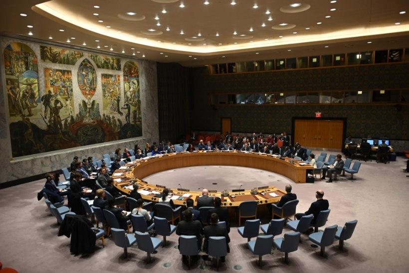 KUKEPOKS KRIISI AJAL! Eesti veenab ÜRO julgeolekunõukogus USAd aru pähe võtma