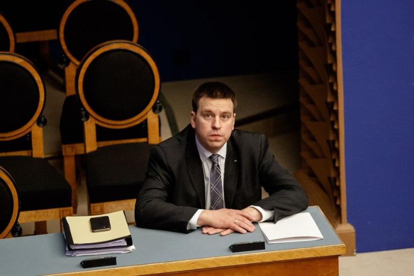 Jüri Ratas riigikogule: õppisime kriisist ja oleme uueks laineks paremini valmis