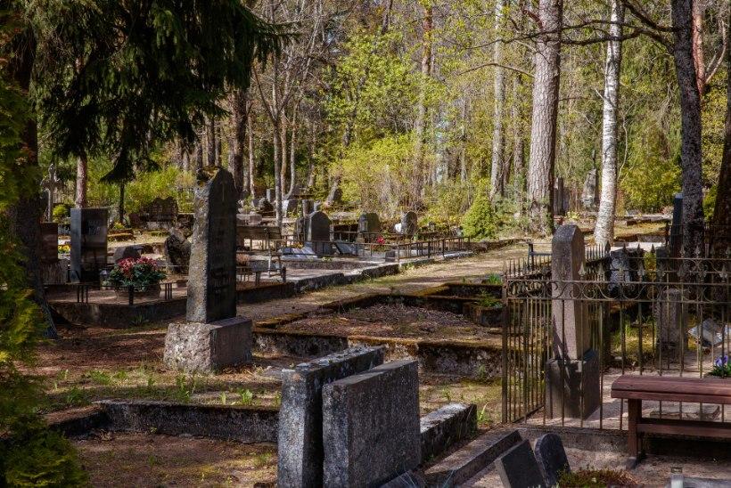 VIIMSE ASEMEGA KITSAS KÄES: tallinlased on surnuaiad täis matnud