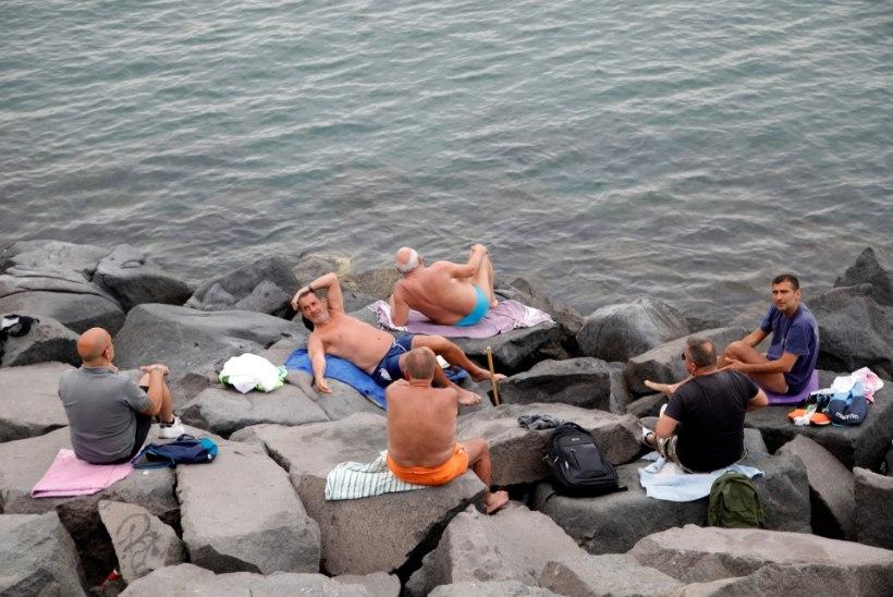Turismieurode näljas Euroopa kukkus piire avama